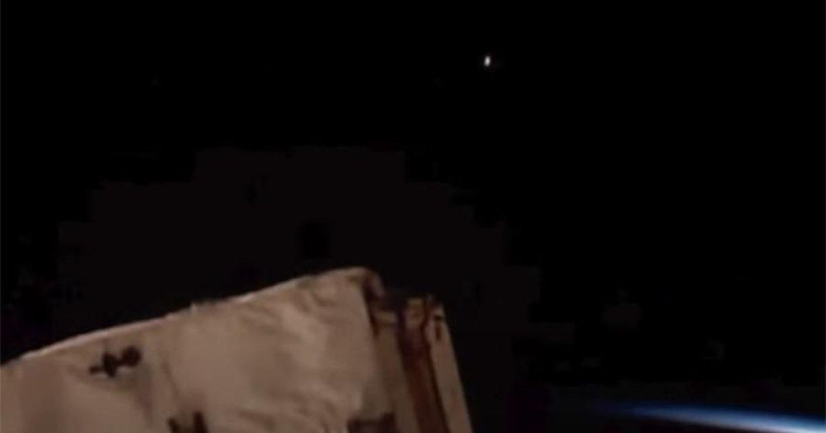 Фото В сети распространили видео с неизвестным летающим объектом