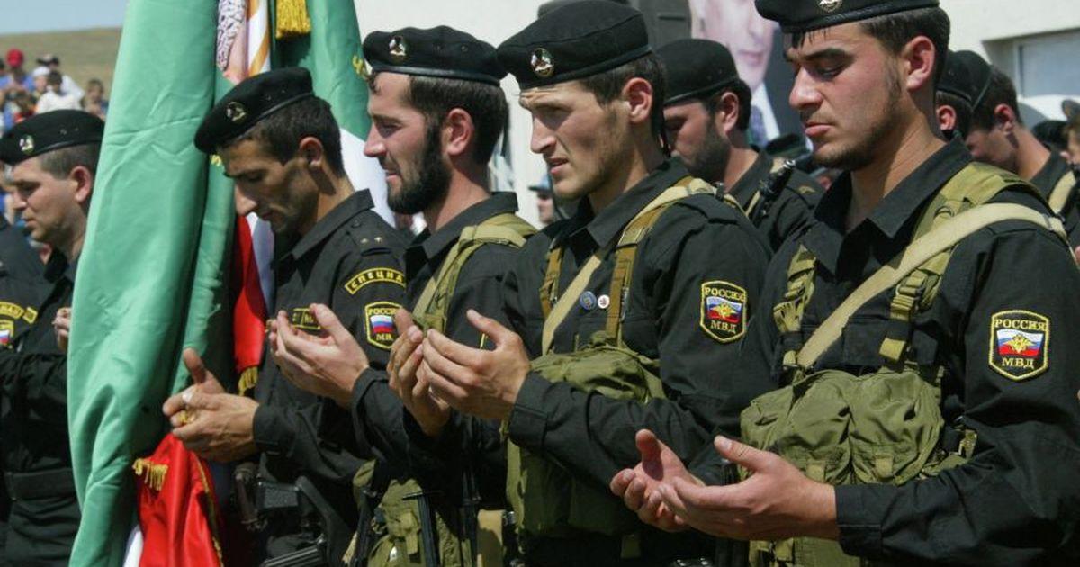 Фото В Чечне произошла перестрелка между ОМОН и СОБР