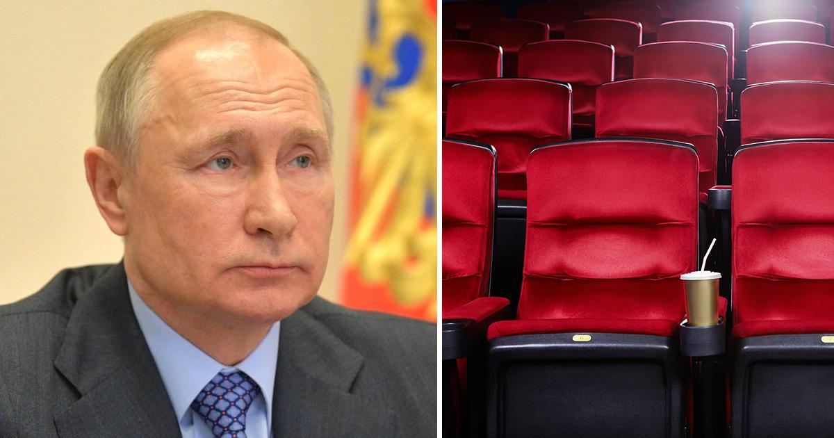 Фото Путин предложил помочь кинотеатрам, если они показывают российское кино
