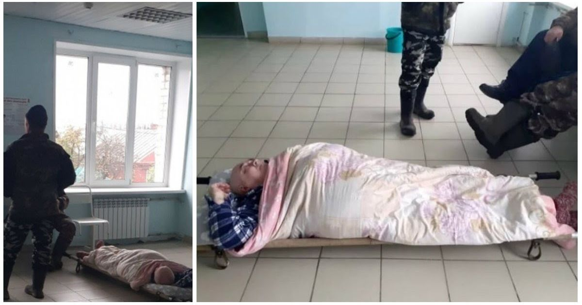 Фото 60-летний пациент с пневмонией 4 часа пролежал на полу в больнице