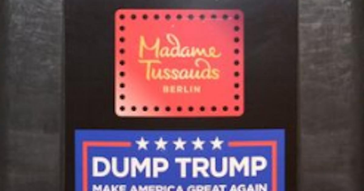 Фото Музей мадам Тюссо в Берлине выставил фигуру Трампа в мусорном контейнере