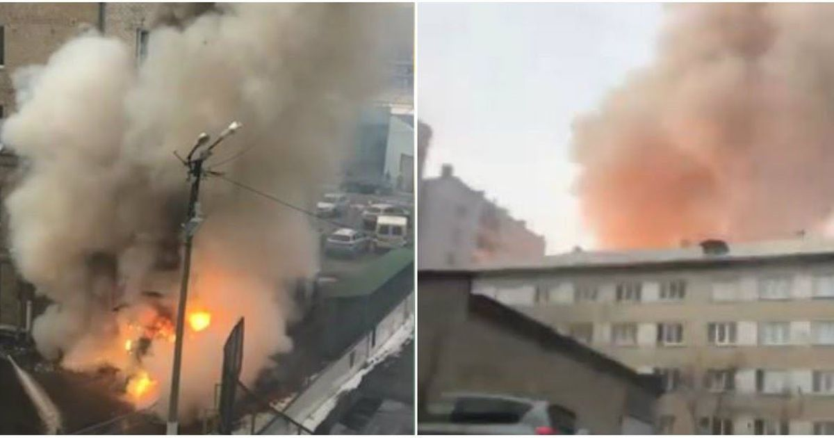 Фото «Взорвался кислород»: взрыв в поликлинике Челябинска прогремел на весь город