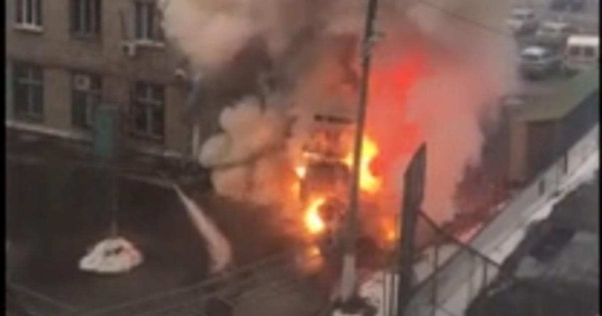Фото В Челябинске после взрыва кислородных баллонов в больнице введен режим ЧС