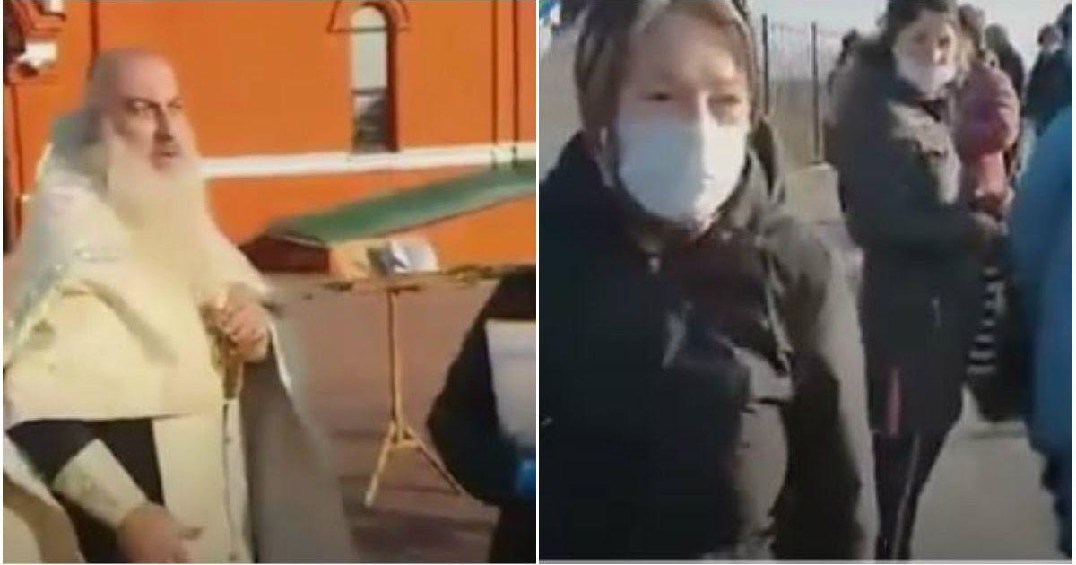 Фото Священник устроил скандал на отпевании в Липецкой области