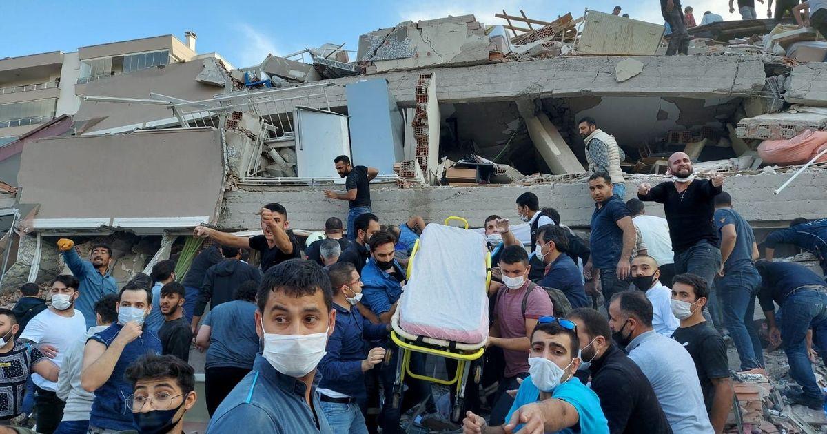 Фото Количество жертв землетрясения в Турции достигло 58