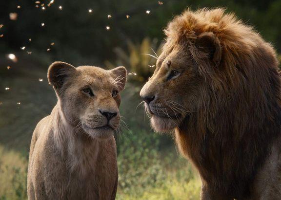 Donald Glover e Beyonce são as vozes de Simba e Nala