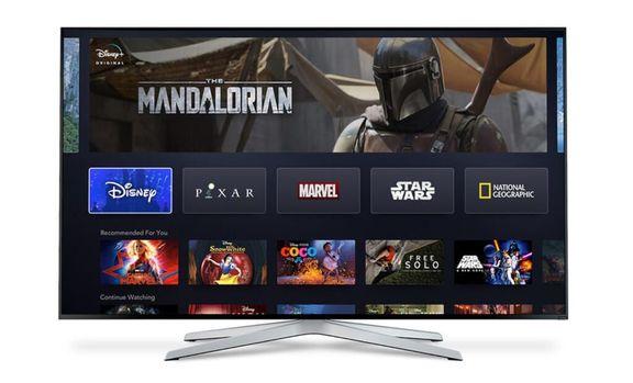 Disney+ é o serviço de streaming com filmes da Disney, Marvel, Lucasfilms, Pixar e NatGeo
