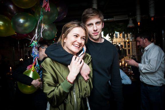 — Надежда Михалкова и Александр Паль
