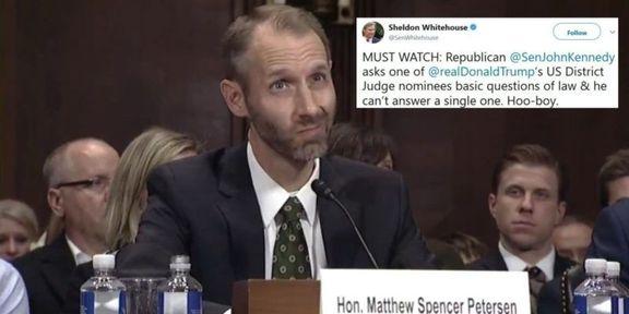 Matthew Petersen Trump nominee